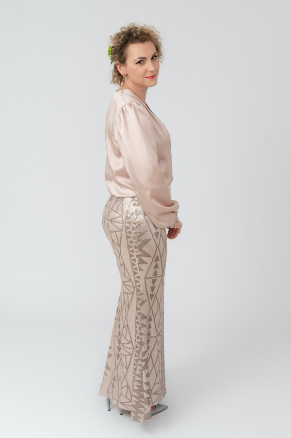 Suknia wieczorowa Rose Gold