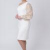 Biała sukienka